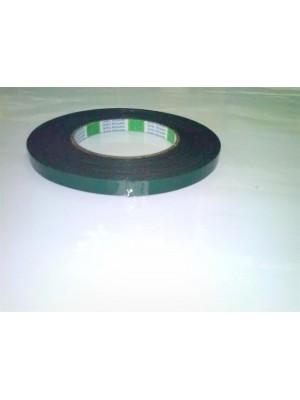Banda Dublu Adeziva Verde 10 mm X 10 m (1010MM) - Scule