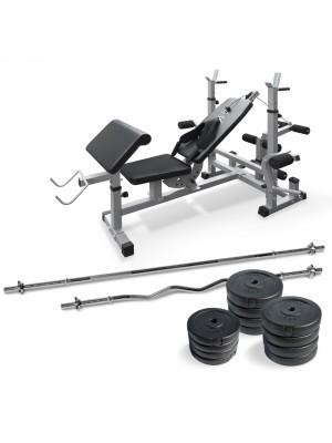 Banca multifunctionala fitness 50kg (127405) - Fitness