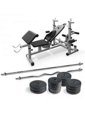 Banca multifunctionala fitness 65kg (127406) - Fitness