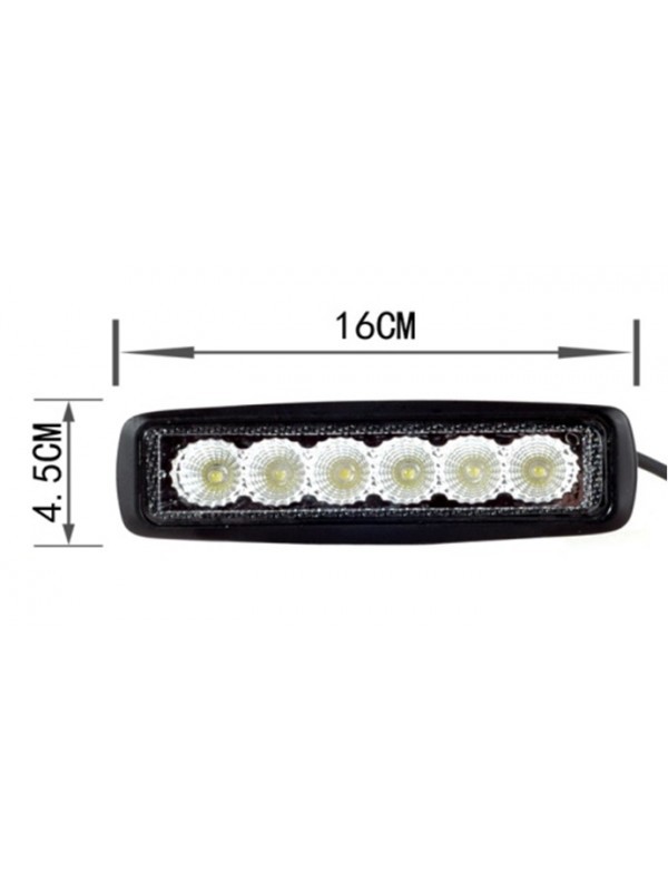 Proiector LED 18W 12V/24V P-003 (P00318W) - Electronice